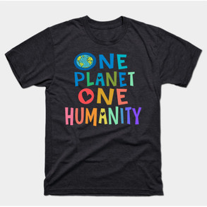 One Planet One Humanity t-shirt