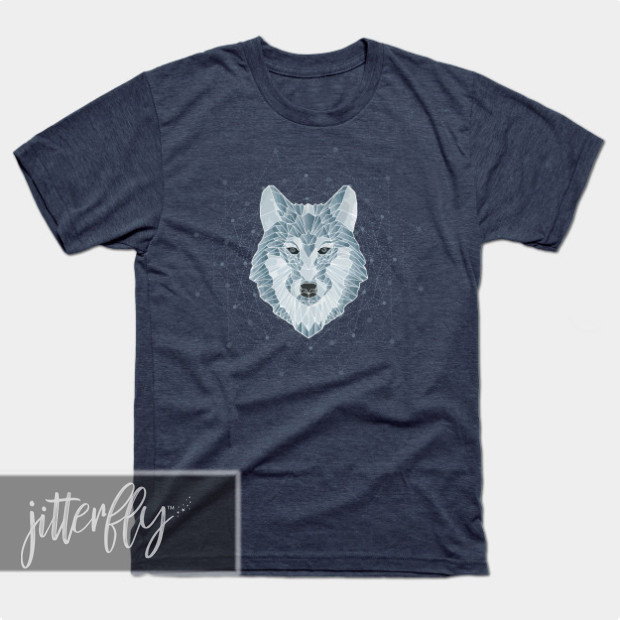 Geometric Wolf Shirts & Gifts