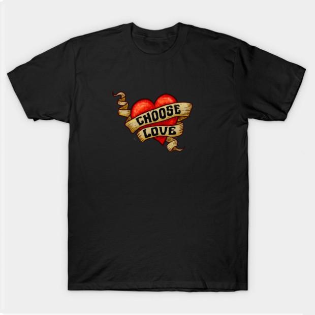 Choose Love Heart t-shirt