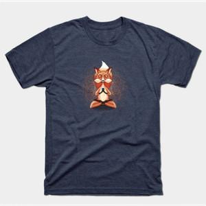 Zen Fox Meditating Shirts & Gifts