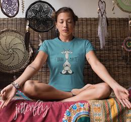 Baaa-Maste Namaste Meditating Goat Yoga
