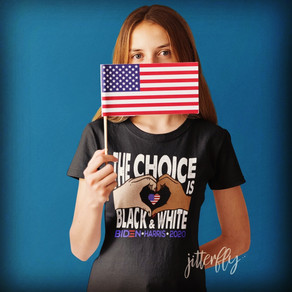 The Choice Is Black & White, Biden Harris