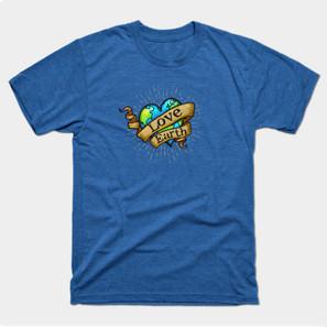 Love Earth Heart t-shirt