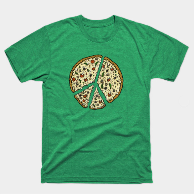Peace Pizza Shirts & Gifts