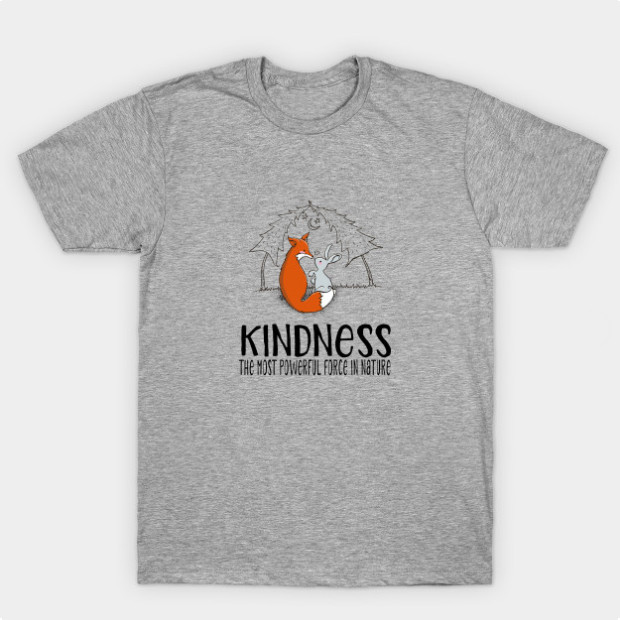 Fox Bunny Kindness Power t-shirt