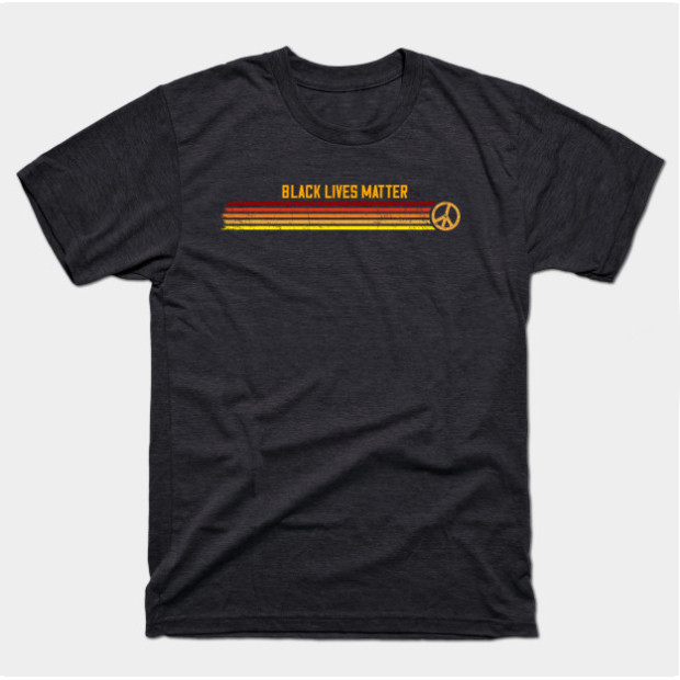 Retro Peace Black Lives Matter Shirts & Gifts
