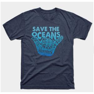 Save The Oceans Shaka t-shirt