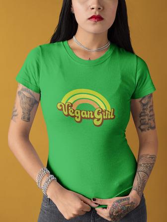 Retro Vegan Girl