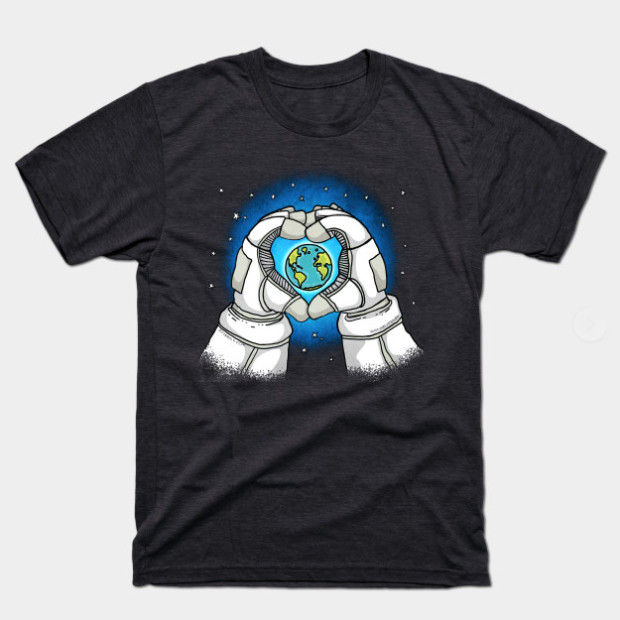 Astronaut Loves Earth