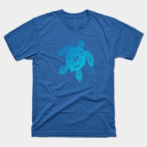Boho Tiki Sea Turtle t-shirt