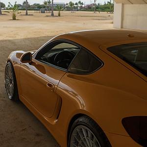 Johnny's Porsche