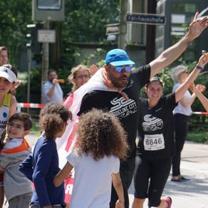 Love, peace and hharmony - Ssideline runs Hamburg half marathon - Robin Watts