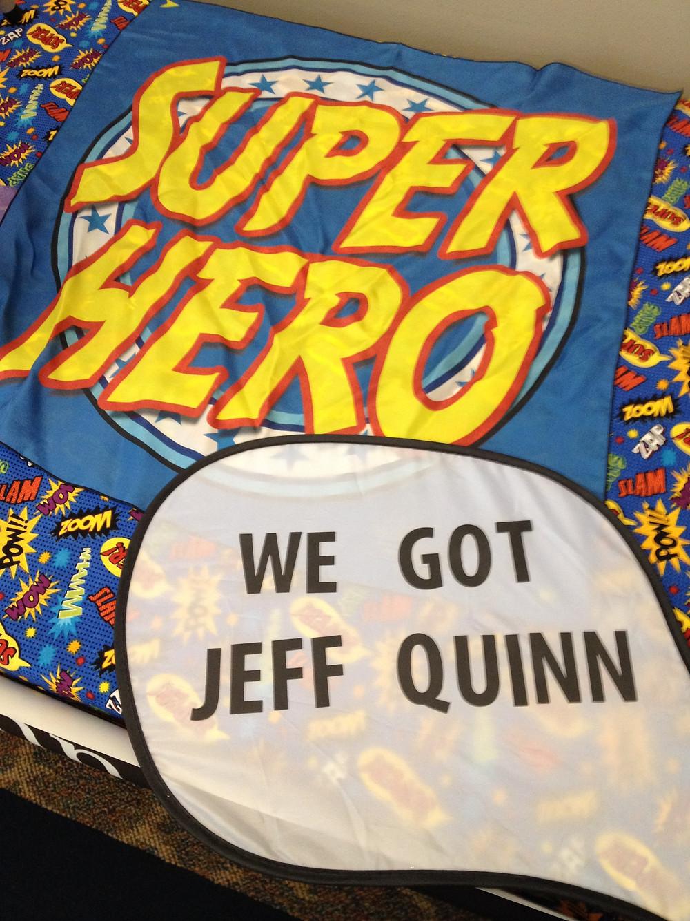 Omaha Magician, Jeff Quinn