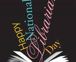 Happy National Librarian Day!
