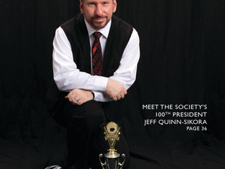 100th President of The Society of American Magicians