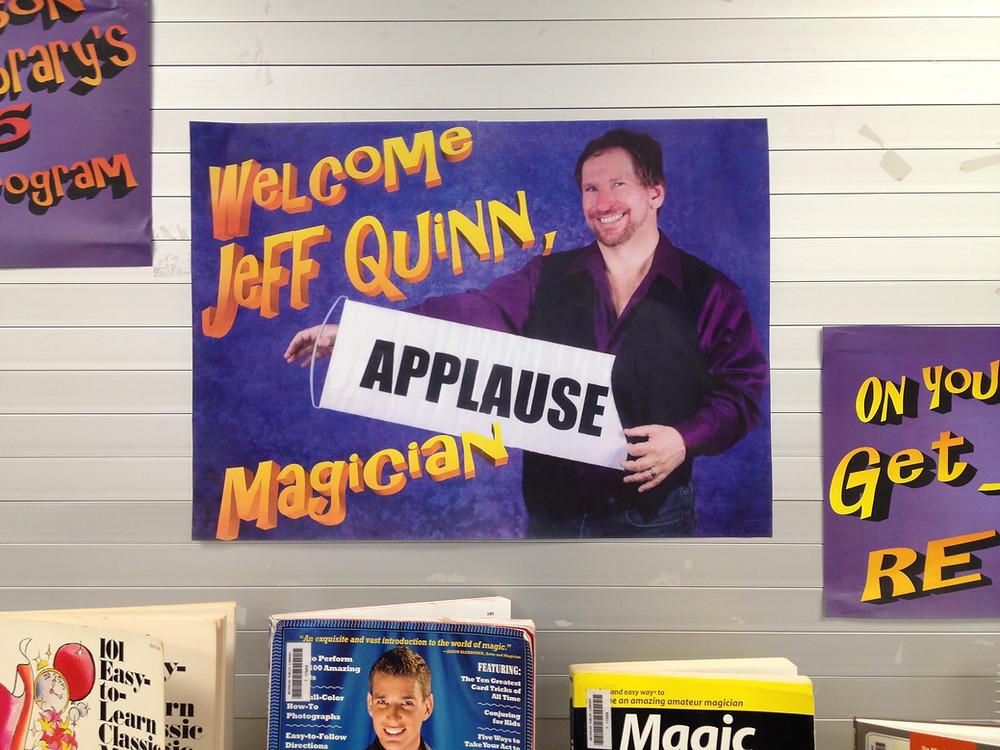 Jeff Quinn, Magician