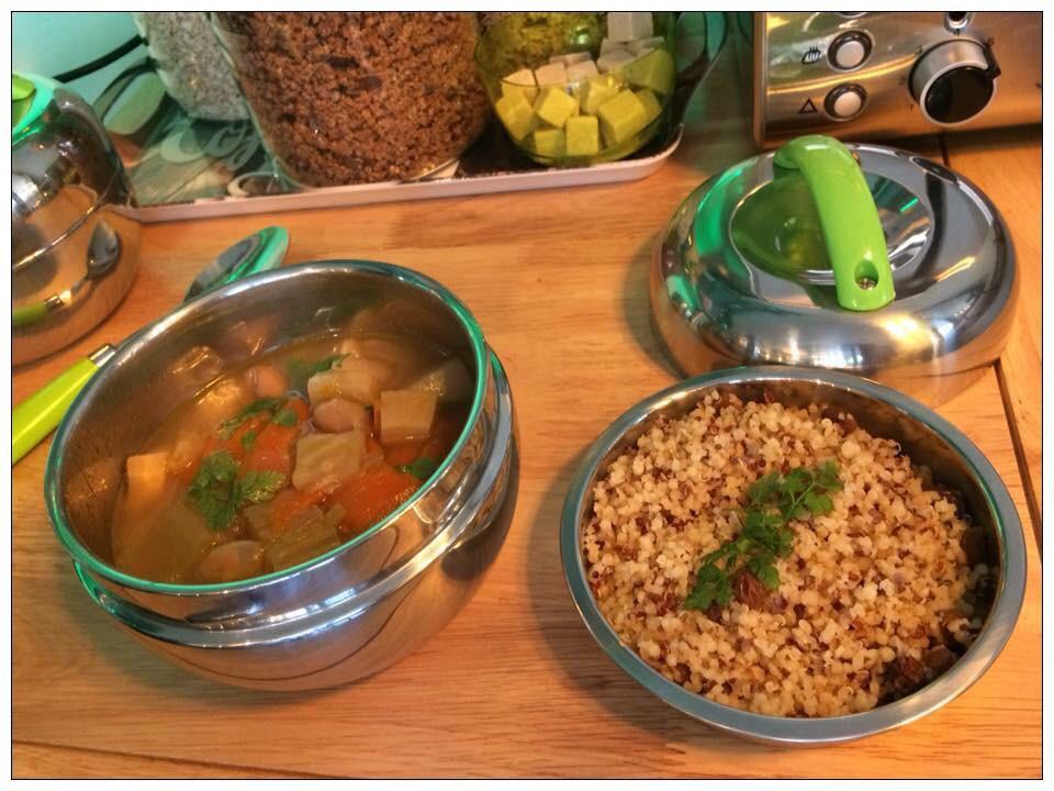 Minestrone et Quinoa