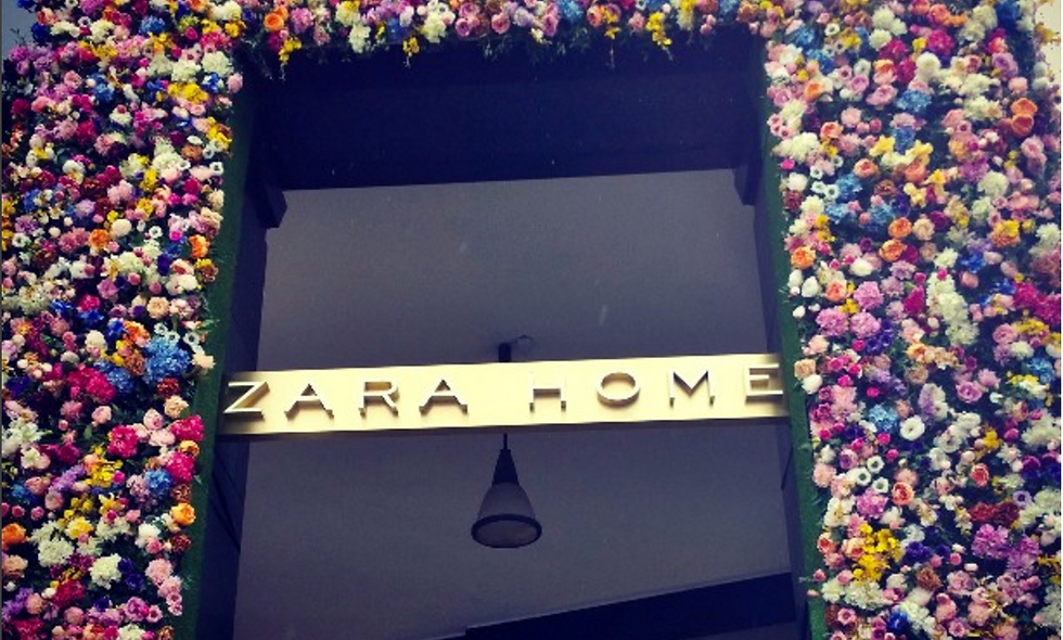 Opening Zara Home in Milan