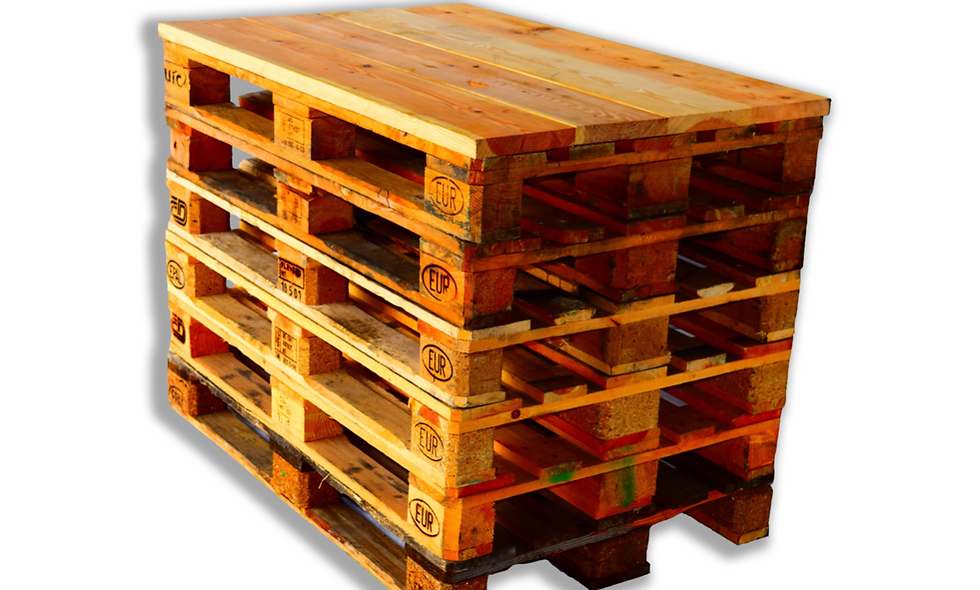 High Table in Pallets