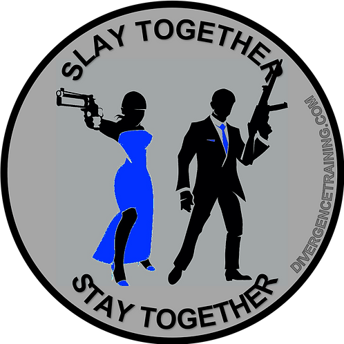 Slay Together Stay Together PVC Patch