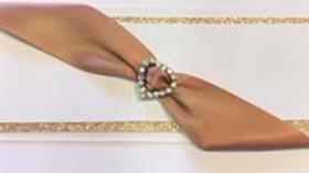 Rose Gold Wedding Invitation or Card