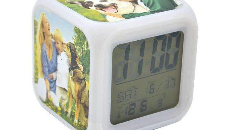 Photo Cube Clock