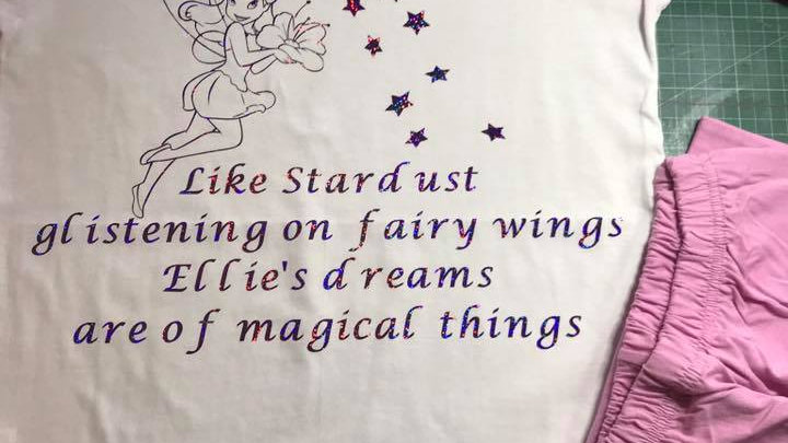 Personalised Fairy Pjamas