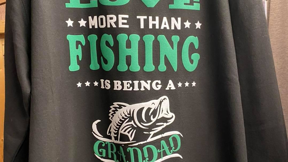 Grandad Fishing Sweatshirt
