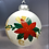 Thumbnail: Hand painted Christmas bauble