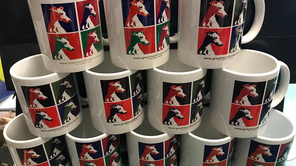 Greyhound Rescue Mugs