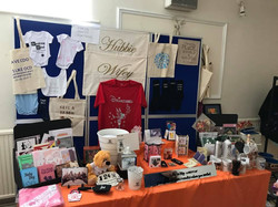 Stall at Craft Fair personalized products and gift ideas in Ipswich