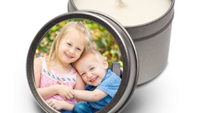 Scented Gift Candle in tin