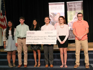 2016 Harrington Scholarship Recipients