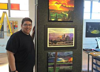 LAF Awards the Lubbock Art Association Scholarship