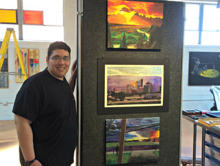 LAF Awards the Lubbock Art Association Scholarship