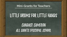 Featured Mini-Grant Story: Little Drums for Little Hands