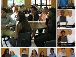 Nine students receive Phoenix Award