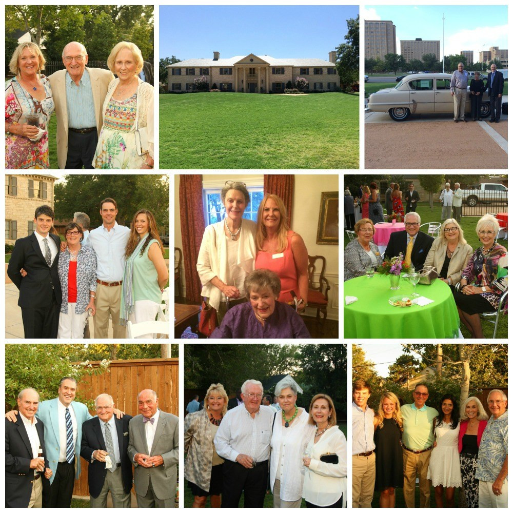Photo collage of 2014 Hero's Luncheon Reception