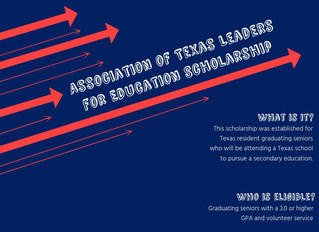 Scholarship Spotlight: Association of Texas Leaders for Education