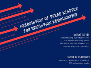 Scholarship Spotlight: Association of Texas Leaders for Education