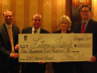 2013 Impact Award Honoree: Literacy Lubbock