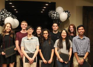 Congratulations to our 2018 Don & Sybil Harrington Scholarship Recipients
