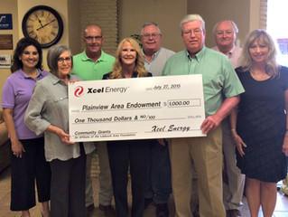 Xcel Energy Foundation makes donation