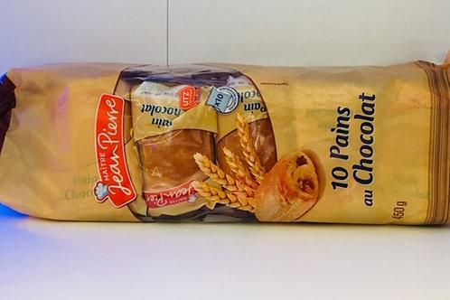 10 pains au chocolat