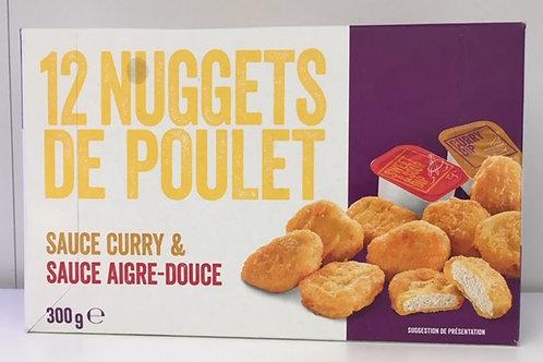 12 nuggets de poulet
