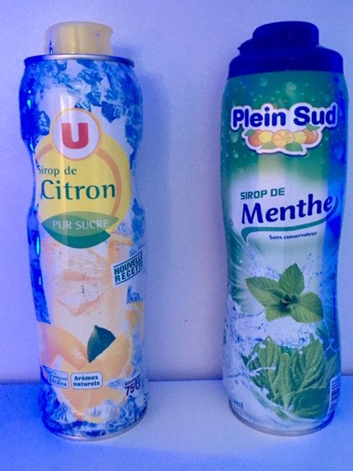 Sirop citron/menthe