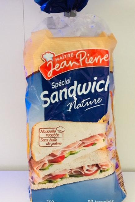 Maître Jean Pierre - Sandwich Nature