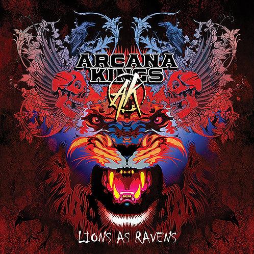 Lions as Raven Vinyl