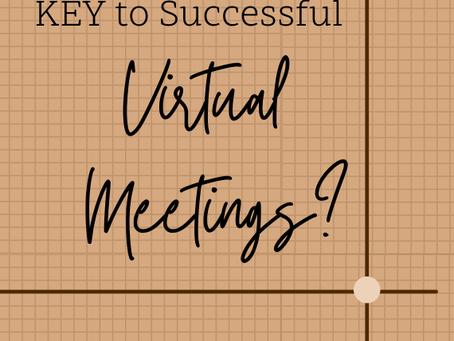KEY to Virtual Meetings