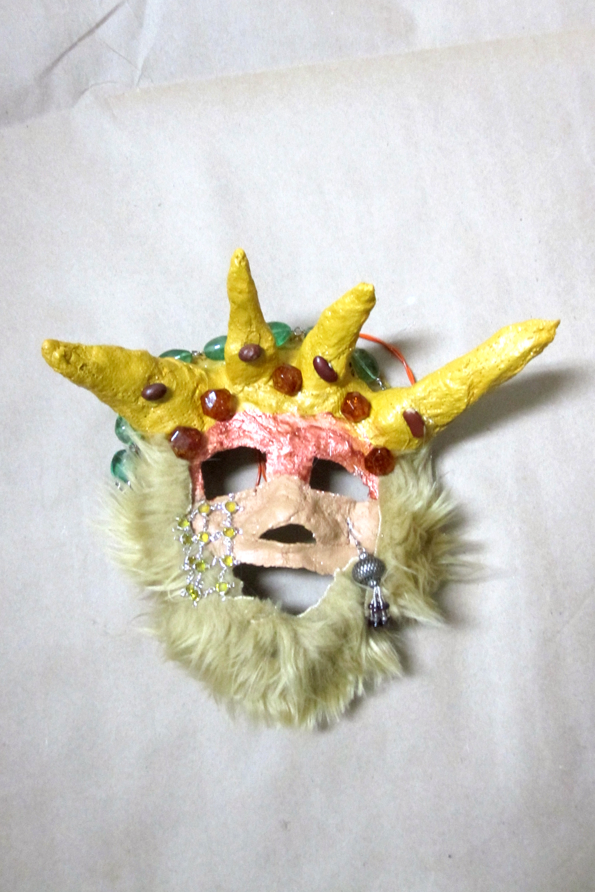 2nd Grade; Primitive Mask